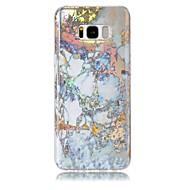 Недорогие Чехлы и кейсы для Galaxy S8 Plus-Кейс для Назначение Samsung S8 Plus S8 Ультратонкий Кейс на заднюю панель Мрамор Мягкий ТПУ для S8 Plus S8 S7 edge S7