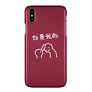 abordables Fundas para iPhone 8-Funda Para Apple iPhone X iPhone 8 Diseños Funda Trasera Caricatura Dura ordenador personal para iPhone X iPhone 8 Plus iPhone 8 iPhone 7