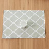 abordables Salvamanteles-Diseño Geométrico Lino / Algodón Cuadrado Juego de Mesa Decoraciones de mesa