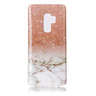 Недорогие Чехлы и кейсы для Galaxy S9-Кейс для Назначение SSamsung Galaxy S9 S9 Plus IMD С узором Кейс на заднюю панель Мрамор Мягкий ТПУ для S9 Plus S9 S8 Plus S8 S7 edge S7