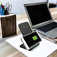 abordables Cargador Wireless-g100 10w carga rápida vertical cargador de tipo móvil cargador inalámbrico para iphone xs iphone xr xsmax iphone 8 samsung s9 plus s8 nota 9 o receptor incorporado qi teléfono inteligente