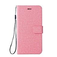 preiswerte Handyhüllen-Hülle Für HTC U11 Kreditkartenfächer Geldbeutel mit Halterung Flipbare Hülle Ganzkörper-Gehäuse Volltonfarbe Hart PU-Leder für HTC U11