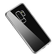 Недорогие Чехлы и кейсы для Galaxy S9-Кейс для Назначение SSamsung Galaxy S9 Plus / S9 Покрытие / Ультратонкий Кейс на заднюю панель Однотонный Мягкий ТПУ для S9 / S9 Plus / S8 Plus
