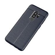 Недорогие Чехлы и кейсы для Galaxy S-Кейс для Назначение SSamsung Galaxy S9 Plus Ультратонкий Кейс на заднюю панель Сплошной цвет Мягкий ТПУ для S9 Plus
