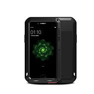 お買い得  携帯電話ケース-ケース 用途 OPPO R9s Plus 水/汚れ/ショックプルーフ フルボディーケース 純色 ハード メタル のために OPPO R9s Plus