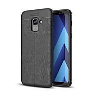 Недорогие Чехлы и кейсы для Galaxy A3(2017)-Кейс для Назначение SSamsung Galaxy A8 2018 A8 Plus 2018 Защита от удара Кейс на заднюю панель Сплошной цвет Мягкий ТПУ для A3 (2017) A5