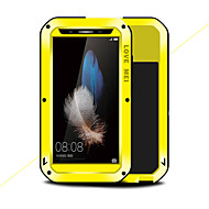 billige -Etui Til Huawei Enjoy 5S Støtsikker Vann / støv / støtsikker Heldekkende etui Helfarge Hard Metall til Huawei Enjoy 5S