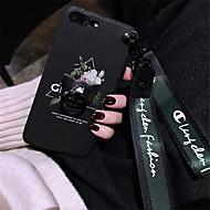 Недорогие Кейсы для iPhone 8-Кейс для Назначение Apple iPhone X iPhone 7 Plus С узором Кейс на заднюю панель Цветы Мягкий Силикон для iPhone X iPhone 8 Pluss iPhone 8