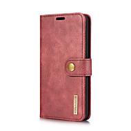 お買い得  -ケース 用途 LG V30 V20 カードホルダー スタンド付き フリップ フルボディーケース 純色 ハード 本革 のために LG V30 LG V20