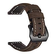 Недорогие Аксессуары для смарт-часов-Ремешок для часов для Gear S3 Frontier Gear S3 Classic Samsung Galaxy Классическая застежка Кожа Повязка на запястье