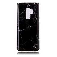 Недорогие Чехлы и кейсы для Galaxy S9 Plus-Кейс для Назначение SSamsung Galaxy S9 S9 Plus IMD Кейс на заднюю панель Мрамор Мягкий ТПУ для S9 Plus S9 S8 Plus S8 S7 edge S7 S6 edge S6