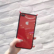 abordables Estuches Cool & Fashion para iPhone-Funda Para Apple iPhone X iPhone 7 Plus Diseños Funda Trasera Color sólido Suave TPU para iPhone X iPhone 8 Plus iPhone 8 iPhone 7 Plus