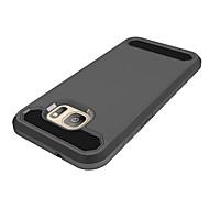 Недорогие Чехлы и кейсы для Galaxy S7-Кейс для Назначение SSamsung Galaxy S7 edge S7 Защита от удара Кейс на заднюю панель Сплошной цвет Твердый ПК для S7 edge S7