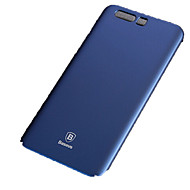 Недорогие Чехлы и кейсы для Huawei Honor-Кейс для Назначение Huawei Honor 9 Защита от удара Ультратонкий Чехол Сплошной цвет Твердый пластик для Honor 9