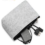 お買い得  MacBook 用ケース/バッグ/スリーブ-アクセサリー収納バッグ ソリッド 繊維 のために 電源 / フラッシュドライブ / ハードドライブ