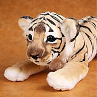 abordables Muñecas y Peluches-Tiger Animales de peluche y de felpa Encantador Confortable Algodón Chica Juguet Regalo 1 pcs