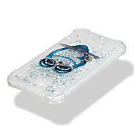 Недорогие Чехлы и кейсы для Galaxy J7-Кейс для Назначение SSamsung Galaxy J7 (2017) J5 (2017) Защита от удара Движущаяся жидкость С узором Кейс на заднюю панель Сияние и блеск