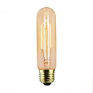 voordelige Gloeilampen-1pc 40W E14 E26/E27 T10 2300 K Gloeilamp Vintage Edison Gloeilamp AC 110-220 AC 110-130V AC 220-240V V