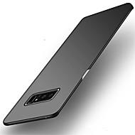Недорогие Чехлы и кейсы для Galaxy Note-Кейс для Назначение SSamsung Galaxy Note 8 Ультратонкий Кейс на заднюю панель Сплошной цвет Твердый ПК для Note 8