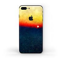Недорогие Защитные плёнки для экрана iPhone-1 ед. Наклейки для Защита от царапин Пейзаж Узор PVC iPhone 8 Plus