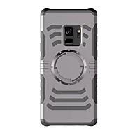 Недорогие Чехлы и кейсы для Galaxy S-Кейс для Назначение SSamsung Galaxy S9 S9 Plus Нарукавная повязка С ремешком на руку Сплошной цвет Твердый пластик для S9 Plus S9 S8 Plus