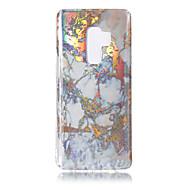Недорогие Чехлы и кейсы для Galaxy S8 Plus-Кейс для Назначение SSamsung Galaxy S9 S9 Plus Покрытие IMD С узором Кейс на заднюю панель Мрамор Мягкий ТПУ для S9 Plus S9 S8 Plus S8 S7