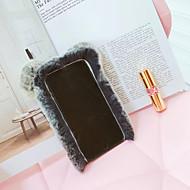 Недорогие Кейсы для iPhone 8-Кейс для Назначение Apple iPhone 6 iPhone 7 Защита от удара Кейс на заднюю панель Сплошной цвет Твердый текстильный для iPhone 8