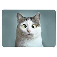 """お買い得  MacBook 用ケース/バッグ/スリーブ-MacBook ケース のために 猫 プラスチック 新MacBook Pro 15"""" / 新MacBook Pro 13"""" / MacBook Pro 15インチ"""