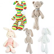 abordables Muñecas y Peluches-50cm Metoo Doll Plush Sweet Cute Rabbit Animales de peluche y de felpa Encantador / Confortable Regalo 1 pcs