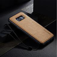 Недорогие Чехлы и кейсы для Galaxy S7-Кейс для Назначение SSamsung Galaxy S8 Plus S8 S7 edge S7 Защита от удара Ультратонкий Своими руками Кейс на заднюю панель Сплошной цвет