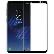お買い得  Samsung 用スクリーンプロテクター-スクリーンプロテクター Samsung Galaxy のために S9 Plus 強化ガラス 1枚 フルボディプロテクター 3Dラウンドカットエッジ アンチグレア 指紋防止 傷防止 防爆 硬度9H ハイディフィニション(HD)