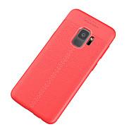 Недорогие Чехлы и кейсы для Galaxy S8 Plus-Кейс для Назначение SSamsung Galaxy S9 Ультратонкий Кейс на заднюю панель Сплошной цвет Мягкий ТПУ для S9 S8 Plus S8