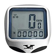tanie Inteligentne urządzenia monitorowania aktywności-MB-468 Komputer rowerowy Stoper Wodoodporny Bezprzewodowy Zapamiętywanie wartości chwilowej Auto On / Off Skan SPD - aktualna prędkość +