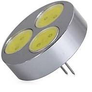 abordables -SENCART 1pc 5 W LED à Double Broches 320 lm G4 T 3 Perles LED COB Décorative Blanc Chaud Blanc Froid 12 V