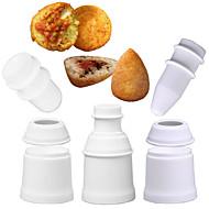 お買い得  キッチン用小物-ベークツール プラスチック 多機能 / 3D / 創造的 日常使用 / 多機能 / 調理器具のための 円形 ホルダー / ベーキング&ペストリーツール 1個