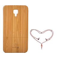 billige -Etui Til Xiaomi Mi 4 Støtsikker Bakdeksel Helfarge Hard Bambus til Xiaomi Mi 4