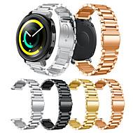 Недорогие Аксессуары для смарт-часов-Ремешок для часов для Gear Sport / Gear S2 Classic Samsung Galaxy Современная застежка Нержавеющая сталь Повязка на запястье
