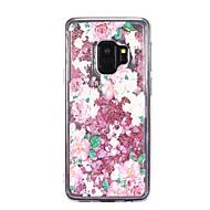 Недорогие Чехлы и кейсы для Galaxy S9-Кейс для Назначение SSamsung Galaxy S9 S9 Plus Движущаяся жидкость Кейс на заднюю панель Цветы Мягкий ТПУ для S9 Plus S9 S8 Plus S8 S7