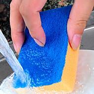 abordables Escobillas y cepillos de mano-Cocina Limpiando suministros Esponja Cepillo y Trapo de Limpieza Tratamiento Anti Manchas 1pc