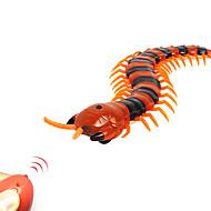 billiga Originella leksaker-Bus- och skämtleksaker Radiostyrda djur Leksaker Tusenfoting tusenfoting Kryllande Fjärrkontroll Simulering Plast ABS 1 Bitar