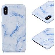 Недорогие Кейсы для iPhone 8-Кейс для Назначение Apple iPhone X iPhone 8 iPhone 8 Plus IMD Ультратонкий Кейс на заднюю панель Мрамор Твердый ПК для iPhone X iPhone 8
