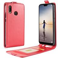 Carcasă Pro Huawei P20 / P20 lite Pouzdro na karty / Flip Celý kryt Jednobarevné Pevné PU kůže pro Huawei P20 / Huawei P20 lite