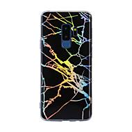 Недорогие Чехлы и кейсы для Galaxy S8 Plus-Кейс для Назначение SSamsung Galaxy S9 S9 Plus IMD С узором Кейс на заднюю панель Мрамор Мягкий ТПУ для S9 Plus S9 S8 Plus S8 S7 edge S7