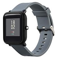 Недорогие Аксессуары для смарт-часов-Ремешок для часов для Huami Amazfit Bip Younth Watch Xiaomi Современная застежка силиконовый Повязка на запястье