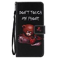 Недорогие Чехлы и кейсы для Galaxy S9-Кейс для Назначение SSamsung Galaxy S9 S9 Plus Бумажник для карт Кошелек со стендом Флип Магнитный Чехол Животное Твердый Кожа PU для S9