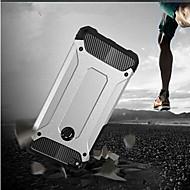 お買い得  携帯電話ケース-ケース 用途 Huawei P10 Lite P10 耐衝撃 バックカバー 鎧 ハード メタル のために P10 Plus P10 Lite P10 P8 Lite (2017)