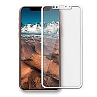 Недорогие Защитные плёнки для экрана iPhone-Защитная плёнка для экрана Apple для iPhone X Закаленное стекло 1 ед. Защитная пленка на всё устройство Защита от царапин