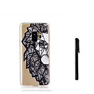 billige Galaxy S7 Edge Etuier-Etui Til Samsung Galaxy S9 S9 Plus Gennemsigtig Bagcover Dyr Blødt TPU for S9 Plus S9 S8 Plus S8 S7 edge S7