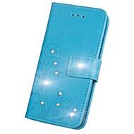preiswerte Handyhüllen-Hülle Für Sony Xperia XZ2 / Xperia L2 Strass / Flipbare Hülle / Geprägt Ganzkörper-Gehäuse Mandala / Schmetterling Hart PU-Leder für Sony Xperia Z2 / Sony Xperia Z3 / Sony Xperia Z3 Compact