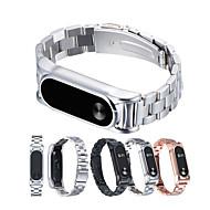 Недорогие Ремешки для часов Xiaomi-Ремешок для часов для Mi Band 2 Xiaomi Спортивный ремешок Металл Повязка на запястье